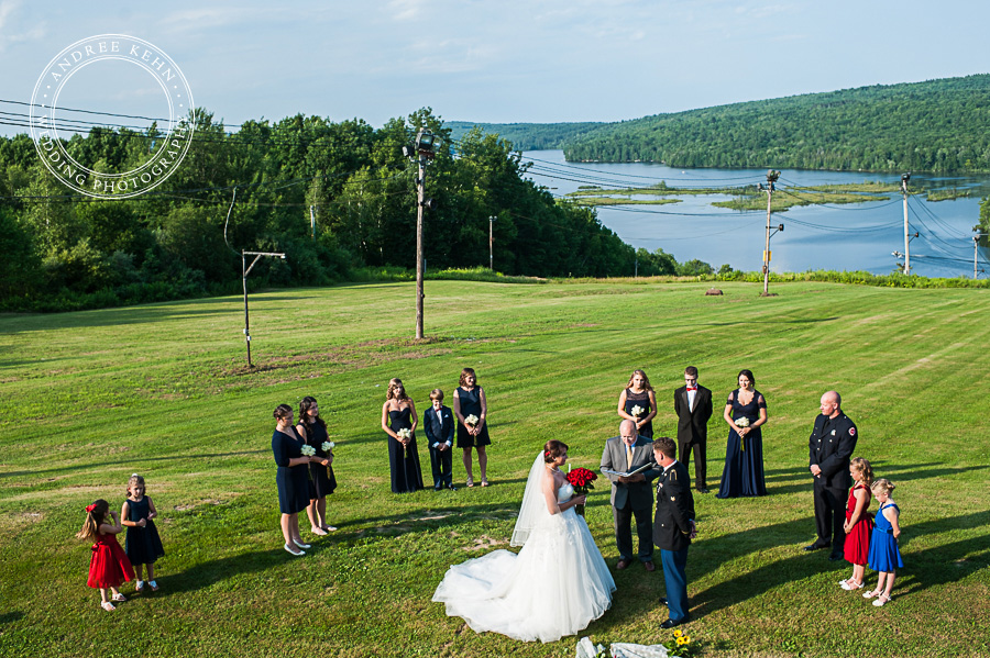 Outdoor Weddings in Maine
