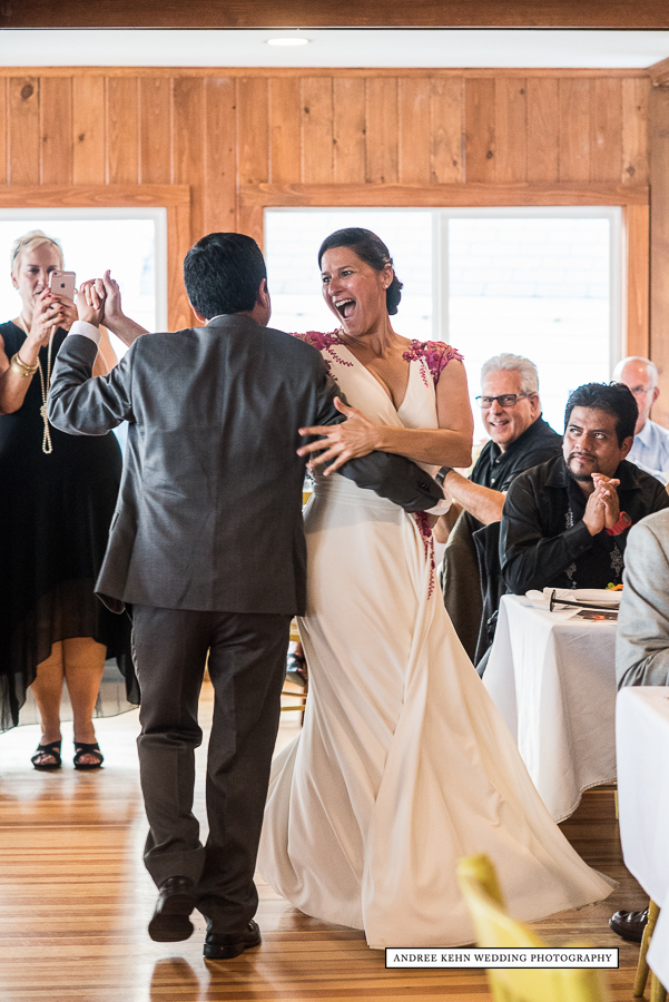 First Dance at Linekin Bay Resort